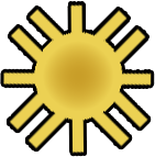 Sun Symbol of the Catalogian Faith.