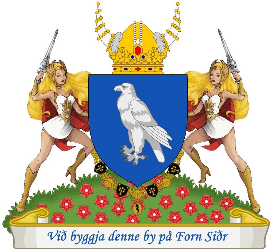 Arms Royal City of Avaldsnes.png