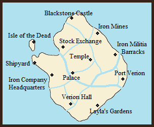 Location of Blackstone